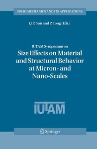 IUTAM Symposium on Size Effects on Material and Structural Behav