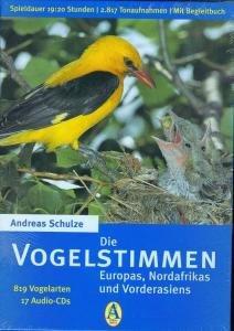 Die Vogelstimmen Europas, Nordafrikas und Vorderasiens. 17 CDs