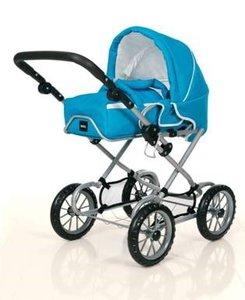 Brio 24890313 - Puppenwagen Combi Aqua Blue