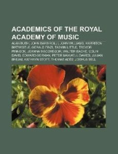 Academics of the Royal Academy of Music