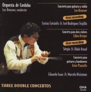 Three double Concertos