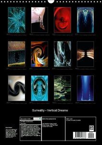 Surreality - Vertical Dreams (Wall Calendar 2015 DIN A3 Portrait