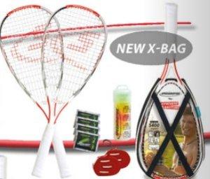 Speedminton® Schläger Set S400 inkl. Tasche, Profi-Set aus Carbo