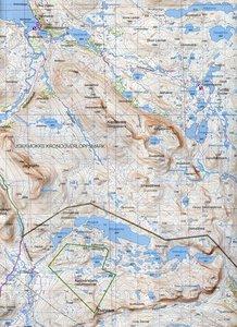 Fjällkartan 1 : 100 000 BD9 Padjelanta - Sulitelma Bergwanderkar