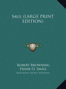 Saul (LARGE PRINT EDITION)