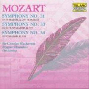 Sinfonien 31,33 & 34