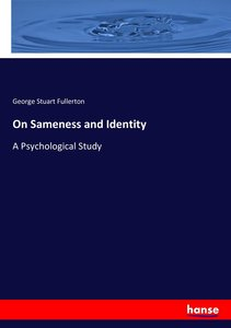 On Sameness and Identity