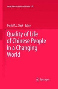 Quality of Life of Chinese People in a Changing World