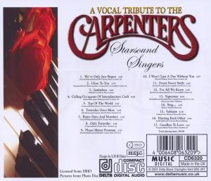 A Vocal Tribute To The Carpenters