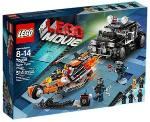 LEGO® Lego Movie 70808 - Superbike Verfolgungsrennen