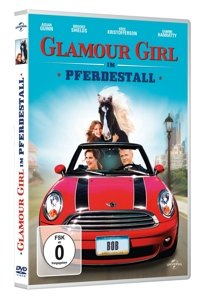 Glamour-Girl im Pferdestall