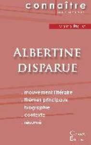Fiche de lecture Albertine disparue de Marcel Proust (analyse co