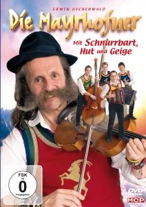 Mit Schnurrbart,Hut und Geige