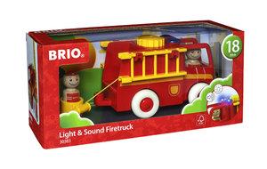 BRIO 30383000 Feuerwehrauto mit Licht und Sound