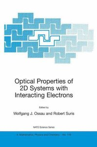 Optical Properties of 2D Systems with Interacting Electrons