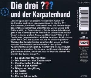 Die drei ??? 003 und der Karpatenhund (drei Fragezeichen). CD