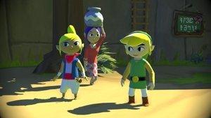 Nintendo Wii U - Konsole 32GB - Premium Pack - Schwarz + Zelda W