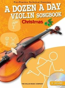 A Dozen A Day: Violin Songbook Christmas