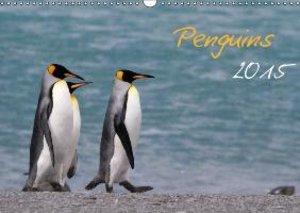 Penguins 2015 (Wall Calendar 2015 DIN A3 Landscape)