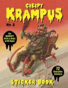 Creepy Krampus Sticker Book