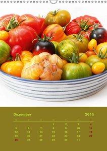 Tomaten - Alles BIO! (Wandkalender 2016 DIN A3 hoch)