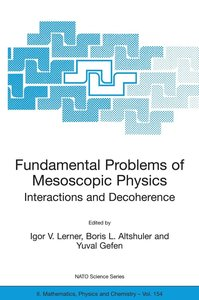 Fundamental Problems of Mesoscopic Physics