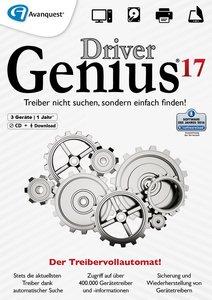 Driver Genius 17 (CD + Download, 3 Geräte / 1 Jahr)