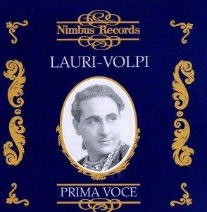 Lauri-Volpi/Prima Voce