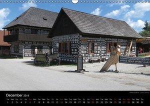 Monuments of Slovakia 2015 (Wall Calendar 2015 DIN A3 Landscape)