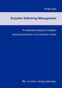 Supplier Switching Management