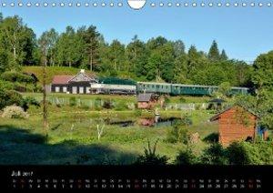 Eisenbahn in Nordböhmen 2017 (Wandkalender 2017 DIN A4 quer)