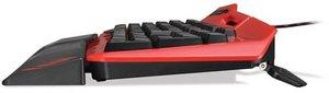 S.T.R.I.K.E. 3 Gaming-Keyboard, Spieletastatur, rot