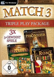 Match 3 Triple Play Package. Für Windows XP/Vista/7/8