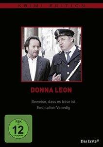 Donna Leon: Beweise, daß es böse ist / Endstation Venedig (Krim