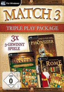 Match 3 Triple Play Package. Für Windows XP/Vista/7/8
