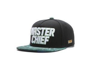HOG - Master Chief Cap (Flat Cap) - Schwarz