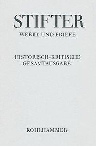 Werke und Briefe 9/1: Wien und die Wiener in Bildern aus dem Leb