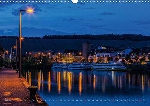 Unterfranken bei Nacht (Wandkalender 2017 DIN A3 quer)