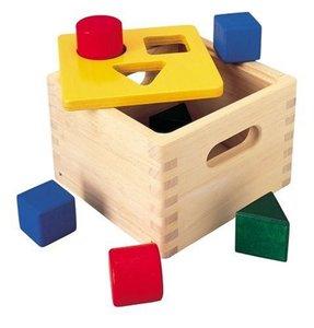 Plan Toys 1359430 - Geo Sortierkasten