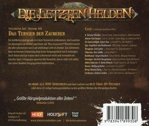 Die letzten Helden 08 - Das Turnier der Zauberer