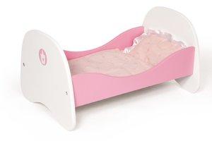 Bayer Design 54201 - Puppenbett aus Holz, Prinzessin
