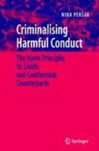 Criminalising Harmful Conduct