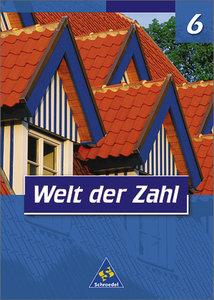 Welt der Zahl 6. Schülerband. Nordrhein-Westfalen