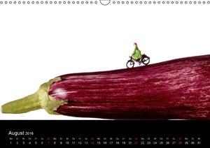 BIG-FOOD-ART 2016 (Wandkalender 2016 DIN A3 quer)