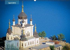 Die Krim - Sonnenseite der Ukraine (Wandkalender 2016 DIN A2 que