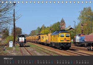 Oberlausitzer Eisenbahnen 2017 (Tischkalender 2017 DIN A5 quer)
