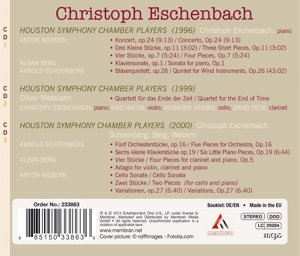 Eschenbach spielt Schönberg,Berg,Webern