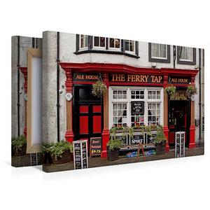 Premium Textil-Leinwand 45 cm x 30 cm quer Pub in South Queensfe