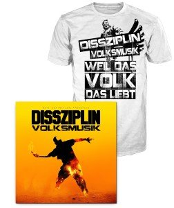 Volksmusik (CD+T-Shirt Gr.L)
