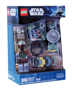 LEGO® Kinderuhr Star Wars - Boba Fett